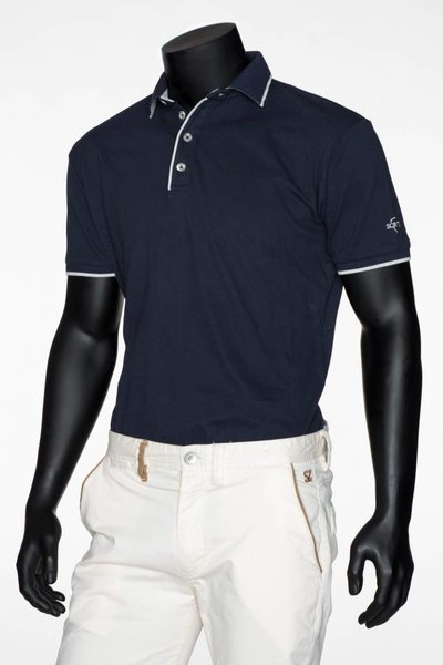 SCRATZ Golfwear SZ Players golf shirt pima katoen stretch