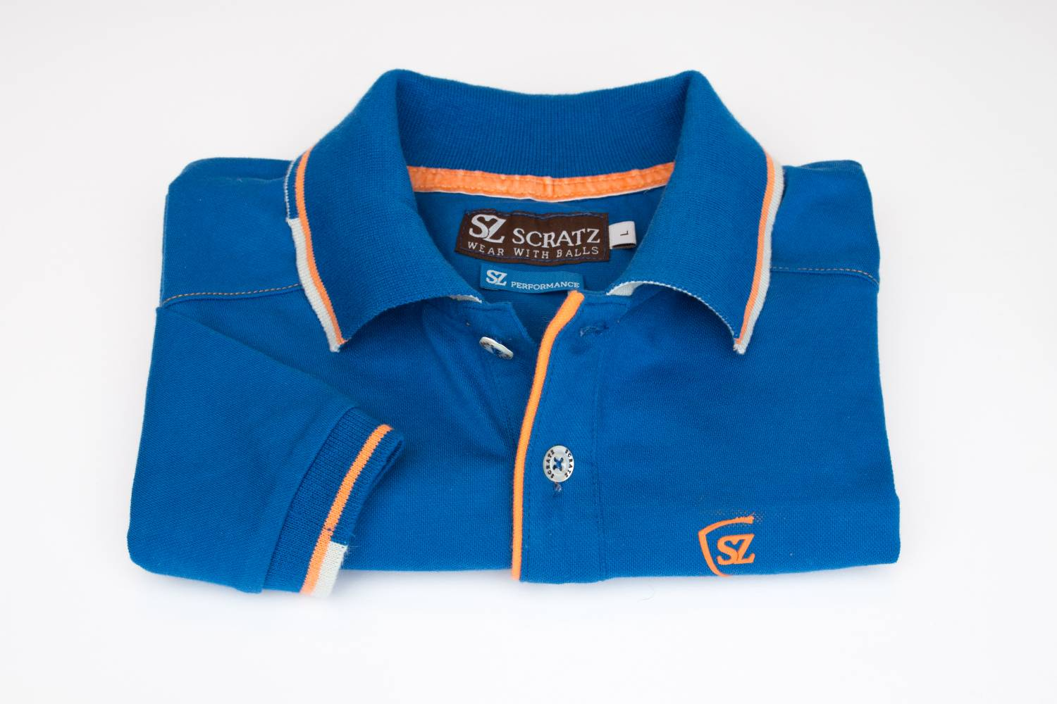 Performance Day met SZ Performance katoen stretch polo shirt