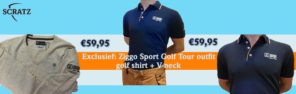 SCRATZ sponsor Ziggo Sport Golf Tour