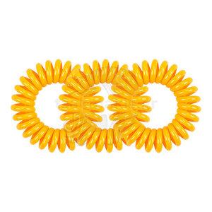 SPIRADELIC Haarelastieken Oranje