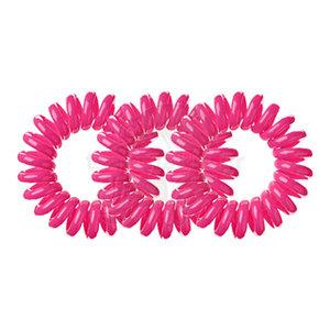 SPIRADELIC Haarelastieken Neon Roze