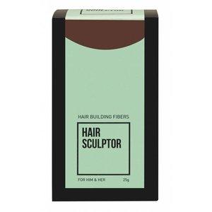 HAIR SCULPTOR MOYEN Cheveux bruns CONSTRUCTION FIBRES 25gr