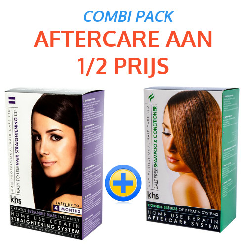 KHS Straightening Box + Gratis Box Aftercare