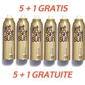 Jet Set Sun 5 + 1 Free Instant Bronzer Self Tanning Mist