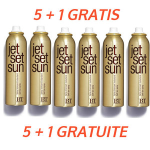 Jet Set Sun 5 + 1 Gratis Instant Bronzer Self Tanning Mist