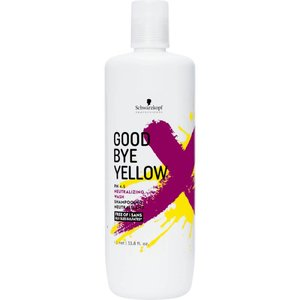 Schwarzkopf Goodbye Yellow Shampoo, 1000ml