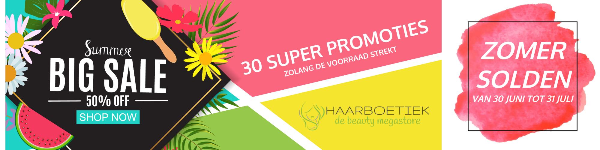 Haarboetiek haarproducten specialist banner 1