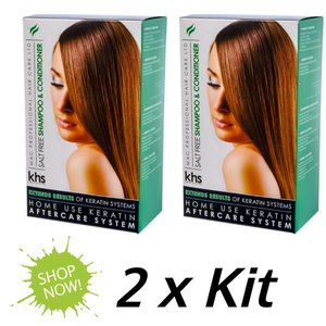 KHS Salt Free Shampoo & Conditioner 2 x KIT
