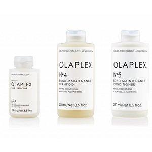 Olaplex Tripple Pack No.3 + No. 4 + No. 5 treatment / Shampoo / Conditioner