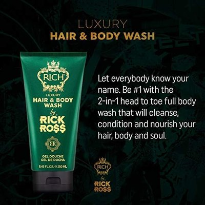 Rick Ross Hair and body wash 250 ml