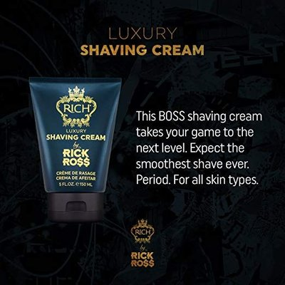 Rick Ross Shaving Cream, 150 ml