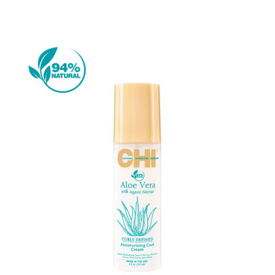 CHI Aloe Vera Crème Hydratante Curl Nectar Agave, 147ml