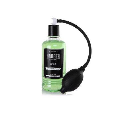BARBER Barber Eau de Cologne No. 13 Mint 400ml + Pump