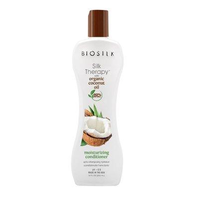 BIOSILK Silk Therapy Coconut Oil Moisture Conditioner, 355ml