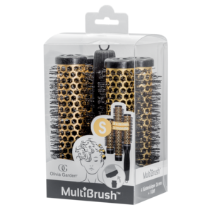Olivia Garden MultiBrush Borstel Set kit 26mm Size: S