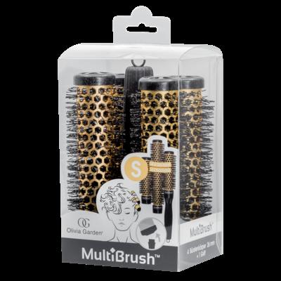 Olivia Garden MultiBrush Borstel Set kit 26mm Size: S