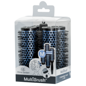Olivia Garden MultiBrush Brush Set kit 36mm Size: M
