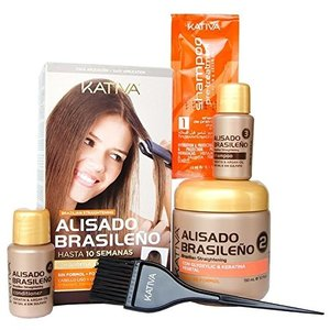 KATIVA Brazilian smoothing straight system Kit
