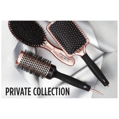 Olivia Garden Nano Thermic 4 Brush Set - Think Pink Series 2019