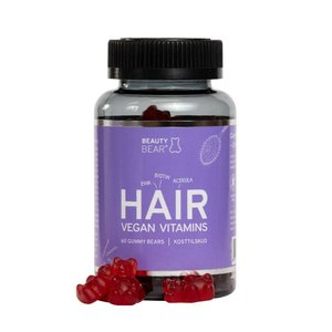 Beauty Bear Hair Vitamines Hair Vitamines, 60 Gummies