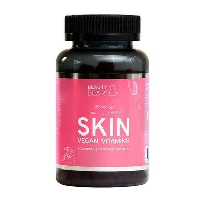 Beauty Bear Hair Vitamines Vitamines cutanées, 60 gélifiés