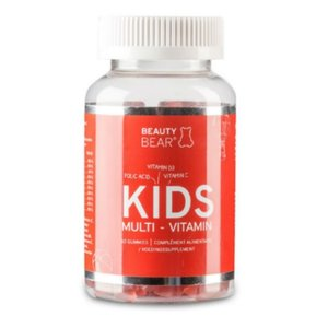 Beauty Bear Hair Vitamines Kids Vitamines, 60 Beertjes