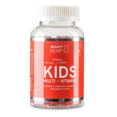 Beauty Bear Hair Vitamines Kids Vitamins, 60 Bears