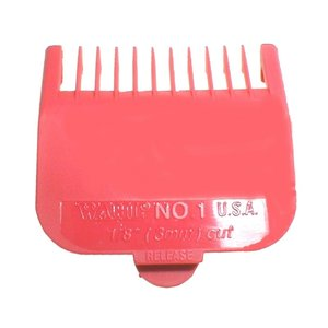 Wahl Attachment comb Nr. 1 - 3 mm RED