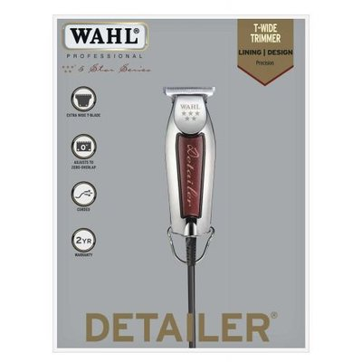 Wahl Trimmer Detailer Chrome / Red