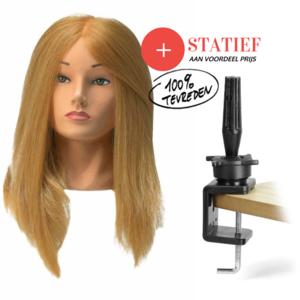 Oefenhoofden JESSICA  Blond + Statief