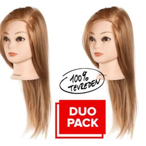 OEFENHOOFD 2 X ANABELLE Blond Practice Head