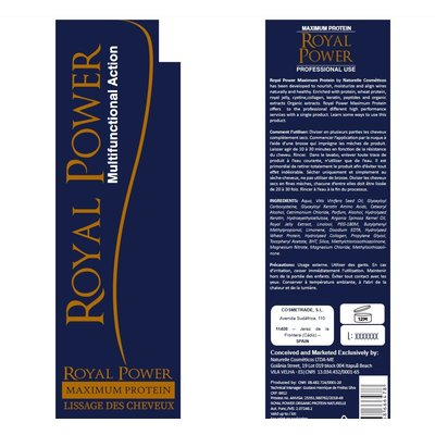Naturelle Cosmetics Royal Power Organic Protein , 1000ml