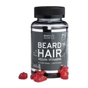Beauty Bear Hair Vitamines Hair Vitamines, 60 Gummies - MEN