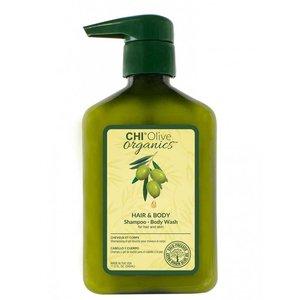 CHI Olive Organics - Hair & Body Shampoo, 340ml