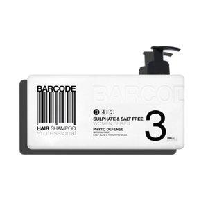 BARCODE Sulphate & Salt Free Shampoo, 1000ml