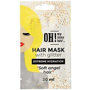 OH! My Sexy Hair Hair mask with Glitter - Extreme Hydration, 20ml