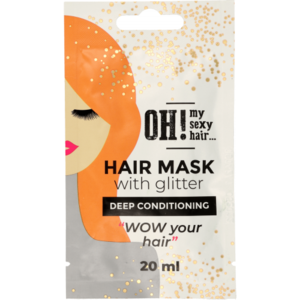 OH! My Sexy Hair Hair mask with Glitter - Deep Conditioning, 20ml