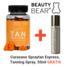 Beauty Bear Hair Vitamines Tan Vitamines, 60 Gummies + Curasano Tanning Spray, 50ml Gratis