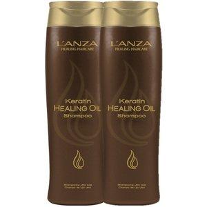 Lanza 2 x Keratin Healing Oil Shampoo 300ml