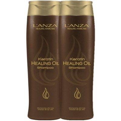 Lanza 2 x shampooing à l'huile de kératine 300ml