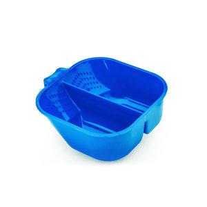HBT Verfbak 2 Compartiment  / Blauw 700ml