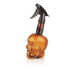HBT Water syringe Barber Skull, 500ml - BROWN
