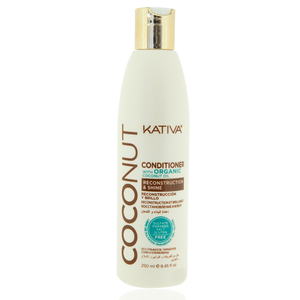 KATIVA Coconut Conditioner, 250 ml