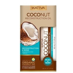 KATIVA Coconut Reconstruction Oil, 60ml
