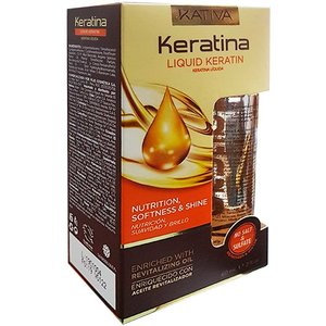 KATIVA KERATINA Liquid Keratin Oil, 60ml
