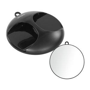 Sibel Round hand mirror with handle LUNA