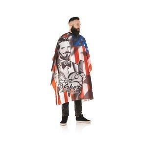 HBT Hooded Coat - STARS STRIPS