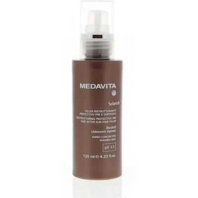 Medavita Solarich Restructuring Protective Pre & After Sun Spray Hair Filler 125ml