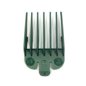 HBT Attachment comb No. 5 - 16 mm - GREEN