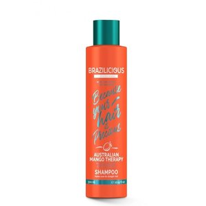 BRAZILICIOUS Australian Mango Therapy Shampoo, 250ml